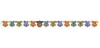 Harry Potter Girlande Happy Birthday 182 x 12 cm