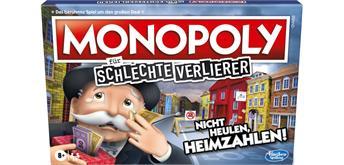 Hasbro E9972100 - Monopoly für schlechte Verlierer