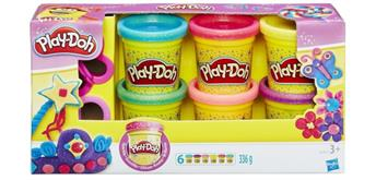 Hasbro Play-Doh Glitzerknete