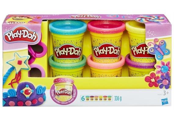 Hasbro Play-Doh Glitzerknete