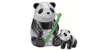 HCM Kinzel 3D Crystal Puzzle Pandapaar, 51 Teile