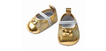 Heless Glitzerballerinas gold Grösse 38 - 45 cm