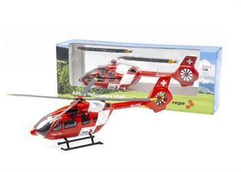 Helikopter und Flugzeuge