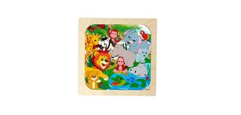 Hess Puzzle Dschungel, 16 Teile