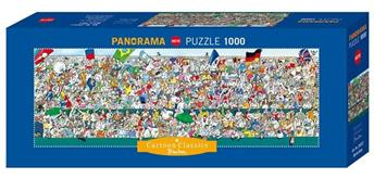 Heye Cartoon Classics Sports Fans Panorama 1000 Teile