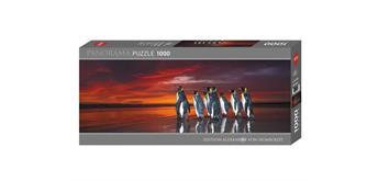 Heye - King Penguins Panorama 1000 Teile