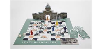 """Hier und Jetzt - Leiterlispiel """"Ab ins Bundeshaus"""""""