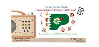 hörbert - 4 GB SDHC Schwiizerdütschi Spichercharte Edelweiss