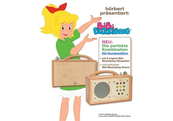 hörbert Bibi Blocksberg - MP3-Player
