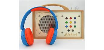 hörbert - MP3-Player mit Bluetooth und Gravur und Internationaler Musik