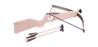 Holzspielerei - Armbrust gross mit Zielscheibe