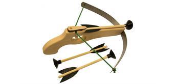 Holzspielerei Armbrust klein, stark