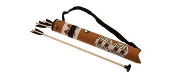 Holzspielerei - Indianerköcher