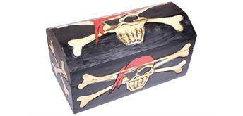 Holzspielerei Piratenbox Captain Jack klein