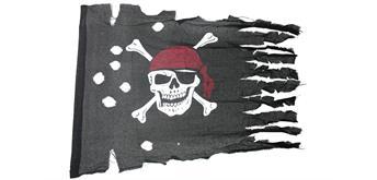 Holzspielerei - Piratenflagge rustikal