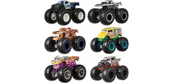 Hot Wheels Monster Trucks 1:64, 2-er Pack