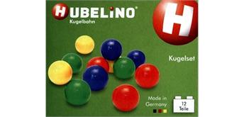 Hubelino Kugelbahn: 12-teiliges Kugelset