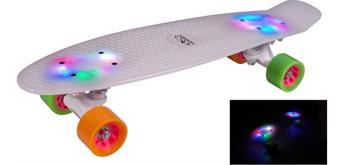 Hudora Skateboard Retro Rainglow 22