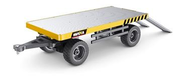 HUINA 1:10 Scale Alloy Flatbed Trailer