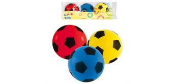 John 51757 - Ball Supersoft Mini, 3 Stück ø 7 cm