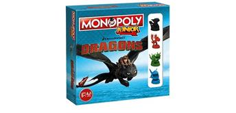 Junior Monopoly Dragons Collectors Edition