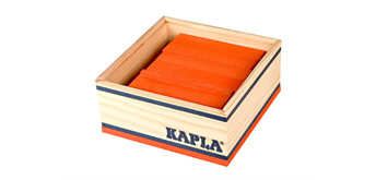 Kapla 40er Quadrat orange
