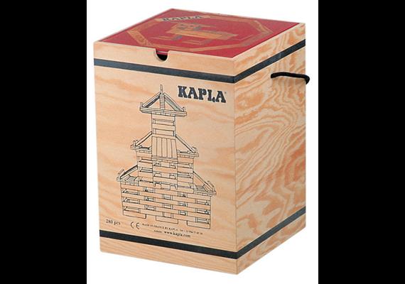 Kapla Baukasten 280 Plättchen mit Buch als Deckel
