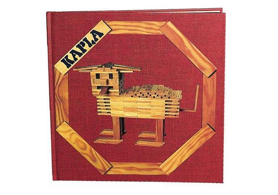 Kapla Buch 1 rot, Anfänger ab 6 J.