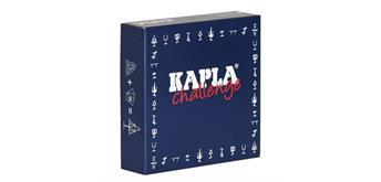 Kapla Challenge 12 Baukarten 16 Plättchen