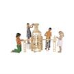 Kapla Kindergartenbox 1000 Stück mit Rädern und Deckel | Bild 4