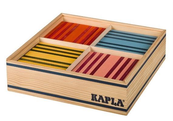 Kapla Octocolor 100 Plättchen farbig