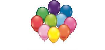 Karaloon - 100 Ballons sortiert Ø 28-30 cm