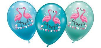 Karaloon - 15 Ballons Flamingo 28 -30 cm