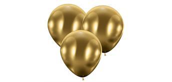 Karaloon - 25 Riesenballons glossy gold Ø 45 cm