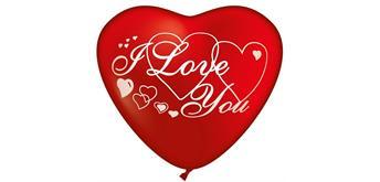 Karaloon - 30 Herzballons I Love You