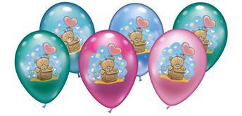 Karaloon - 6 Ballons 30067 Baby Teddy