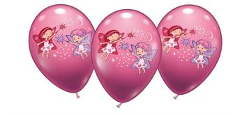 Karaloon - 6 Ballons Feen 28 - 30 cm