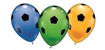 Karaloon - 6 Ballons Fussball 28 - 30 cm
