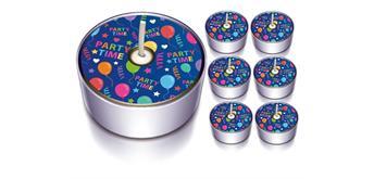 "Karaloon - 6 Design-Lichter ""Party Time"""