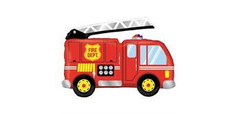 Karaloon - Folienballon Feuerwehrauto 102 cm