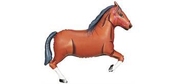Karaloon - Folienballon Pferd braun 91 cm