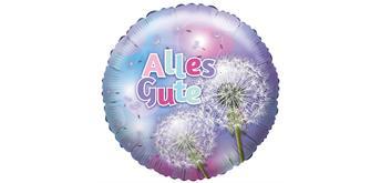 """Karaloon - Folienballon Pusteblume """"Alles Gute"""" 45 cm"""
