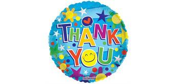 "Karaloon - Folienballon ""Thank you"" 45 cm"