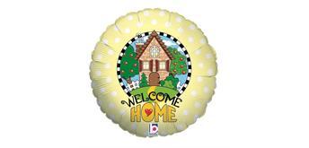 "Karaloon - Folienballon ""Welcome Home"" 46 cm"