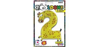 Karaloon - Folienballon Zahlen 2 Giraffe 102 cm