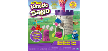 Kinetic Sand farbig Magic Molding Tower