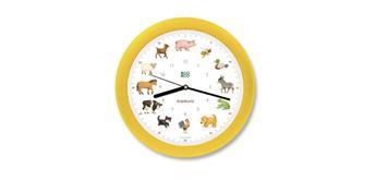 KOOKOO KidsWorld Uhr gelb SilentMove