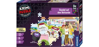 Kosmos 68072 Krimi-Puzzle: Die drei!!! - Skandal auf dem Reitturnier