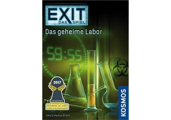Kosmos EXIT- Das geheime Labor (Kennerspiel Jahres 2017)