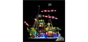 LED Licht Set für LEGO® 21322 Piraten der Barracuda Bucht